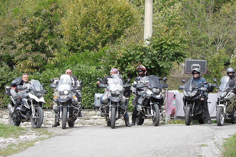 Motociclisti presso il B&B Eremo Gioioso