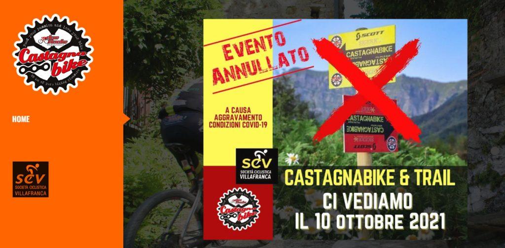 Castagna Bike 2020 annullata