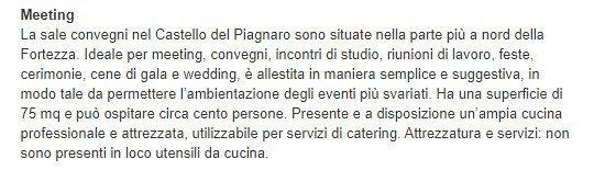 Matrimoni al castello del Piagnaro