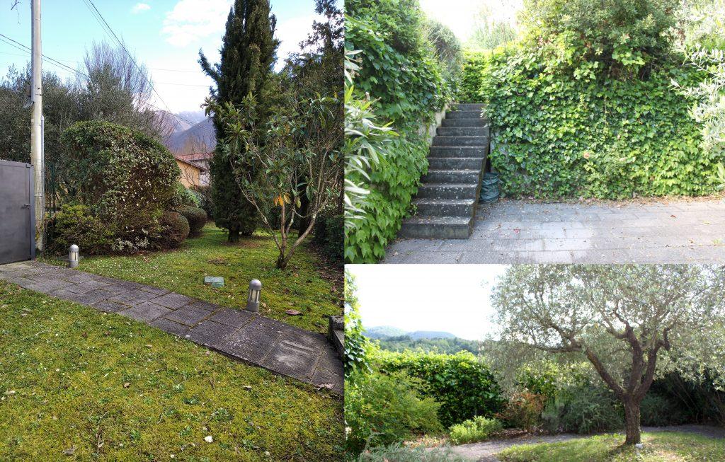 Il giardino della casa nel borgo