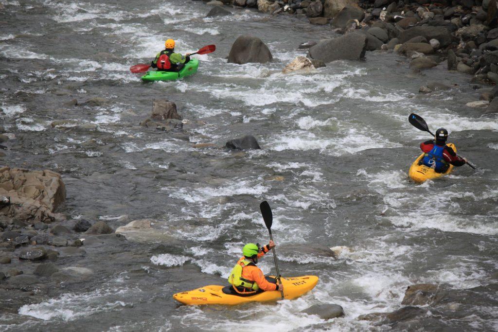 A 50 metri dal B&B ERemo Gioioso, in canoa sul fiume Magra
