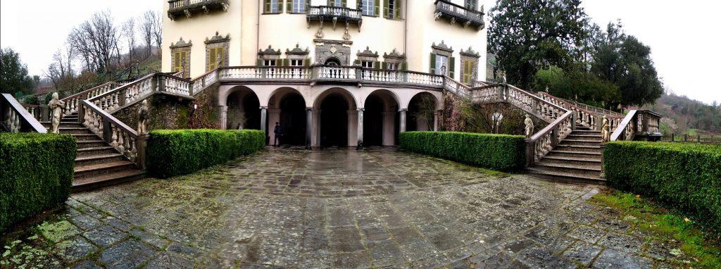 Entrata Villa Dosi