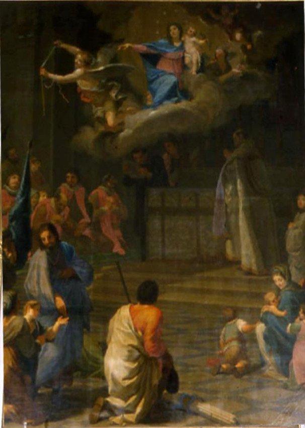 Duomo di Pontremoli: raffigurazione del voto del 1622