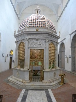 Tempietto: opera di Andrea Sansovino