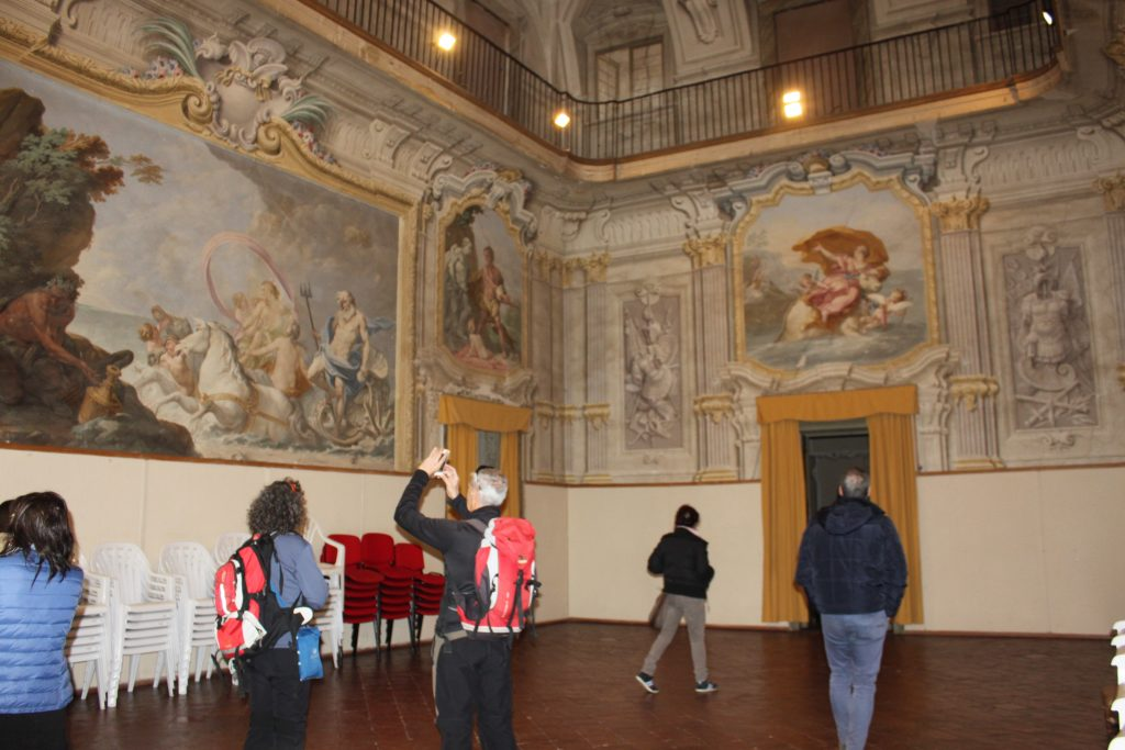 Palazzo Dosi-Magnavacca: il salone