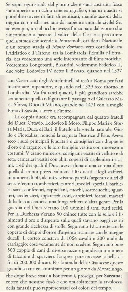 Testo del libro Lunigiana ignota, scritto nel 1930 da Carlo Caselli, giornalista
