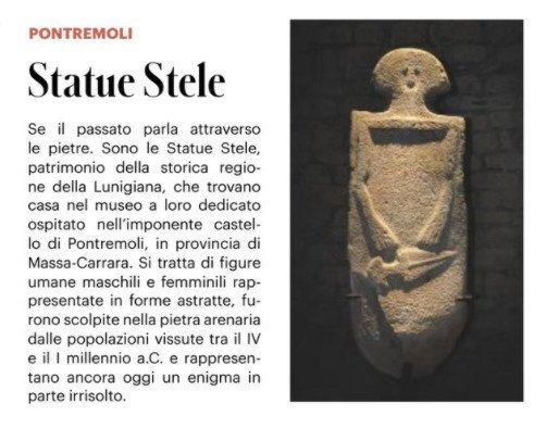Lunigiana: le misteriose statue stele
