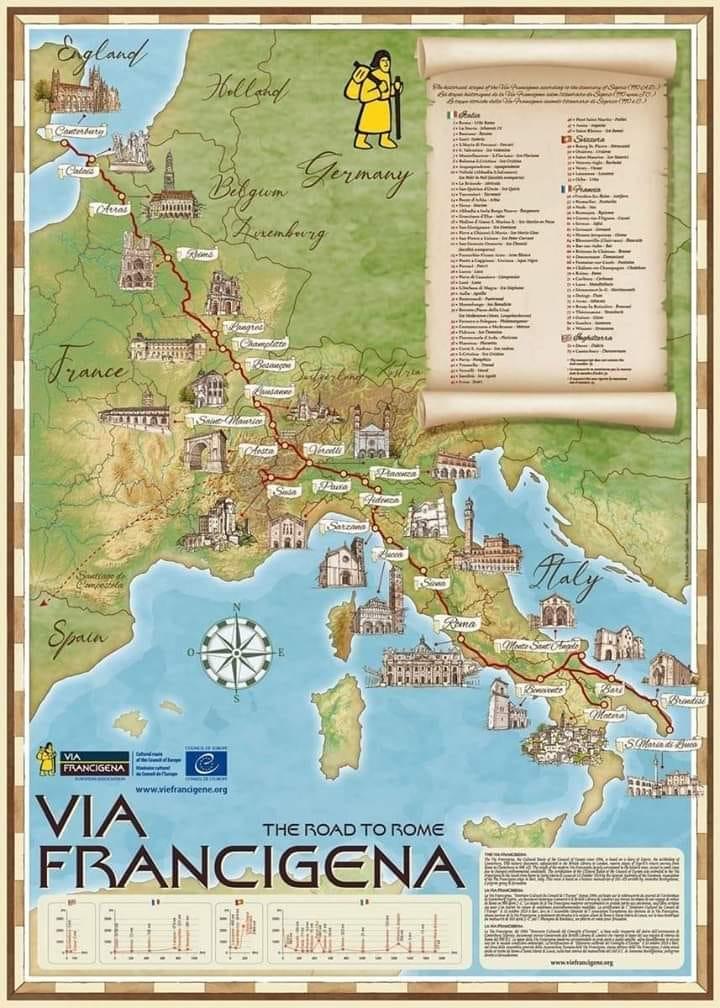 Lunigiana: un territorio attraversato dalla Via Francigena