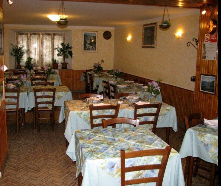 Ristorante Marietta: la sala da pranzo