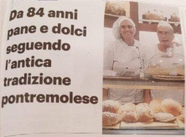 Il Forno Tarantola a Pontremoli, quasi un secolo di attività di padre in figlia