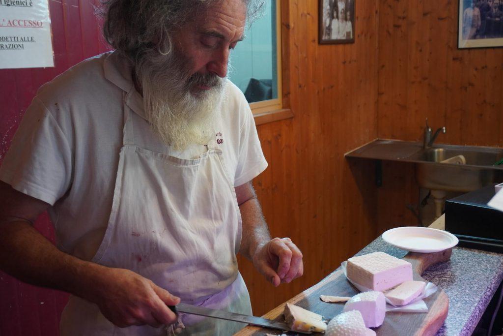 Pierpaolo Piagneri creatore di formaggi impareggiabili