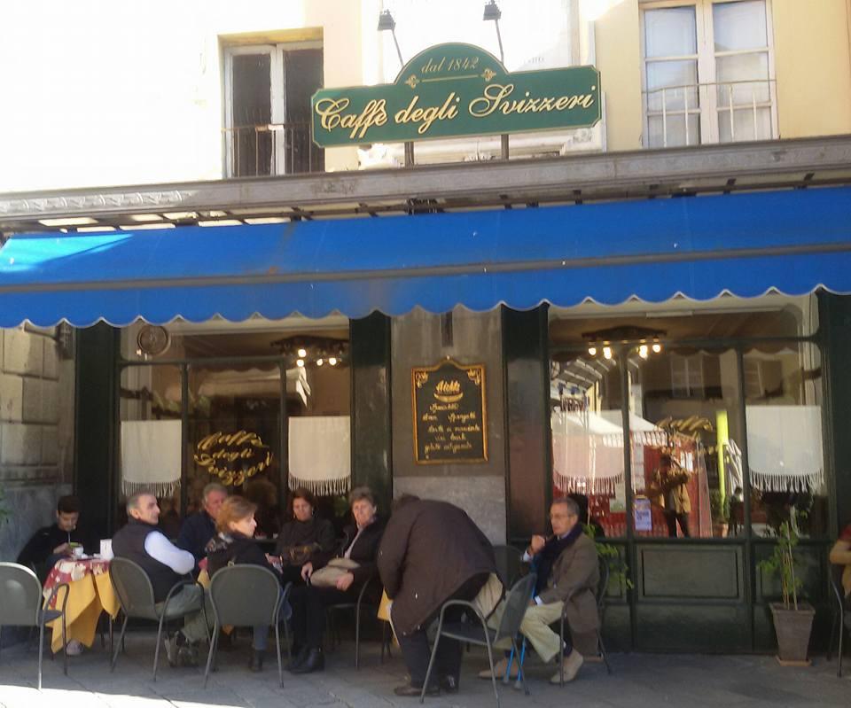 Caffè degli Svizzeri: luogo di conversazioni