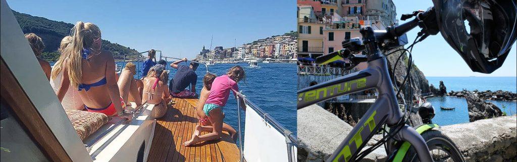 Vacanza con bambini: gita in barca alle 5 terre
