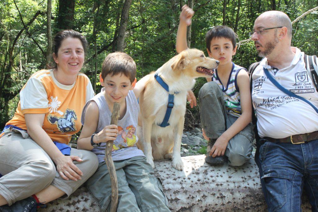 Il cane è uno di famiglia